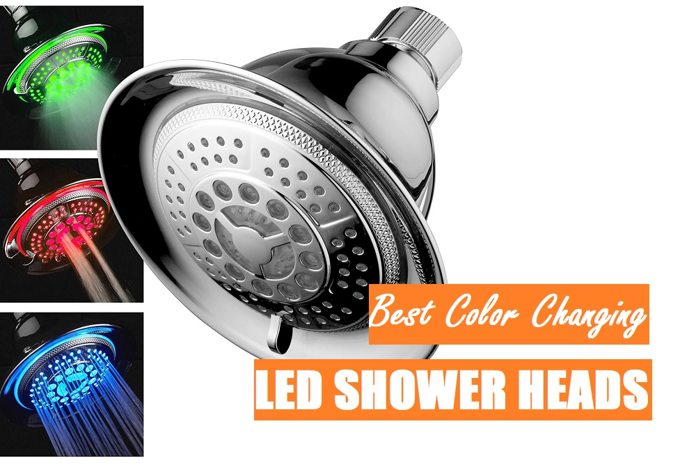 Color Changing Shower Heads Have LED Lights That Illuminate The Streams Of  Water As They Fall. There Are Several Different Types.
