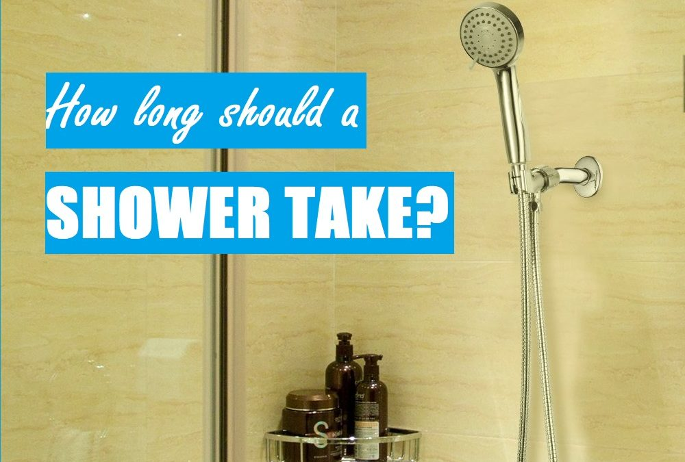How long should a shower take?