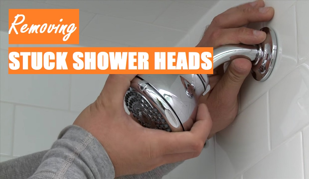 How To Remove A Stuck Shower Head Step By Maestro